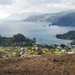 View from island Vulcano. — Stock Photo