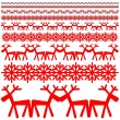 Christmas winter pattern — Stock Vector