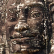 Stone face, Prasat Bayon, Cambodia — Stock Photo