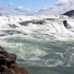 Gullfoss (Golden Falls), Iceland — Stock Photo #44614083