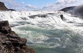 Gullfoss (Golden Falls), Iceland — Stock Photo