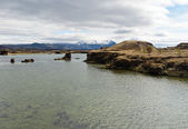 Myvatn lake, Iceland — Stock Photo