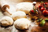 Pizza Dough — Stock Photo