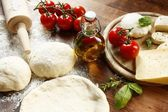 Pizza Dough — Stock Photo