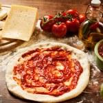 Pizza Dough — Stock Photo #12754821