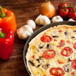 Vegetarian Quiche — Stock Photo #12773258