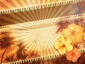 Tropical Film Background — Stock Photo