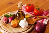 Fresh Ingredients — Stock Photo