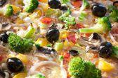 Pizza close-up — Stock Photo