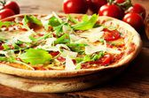 Pizza Arugula — Stock Photo
