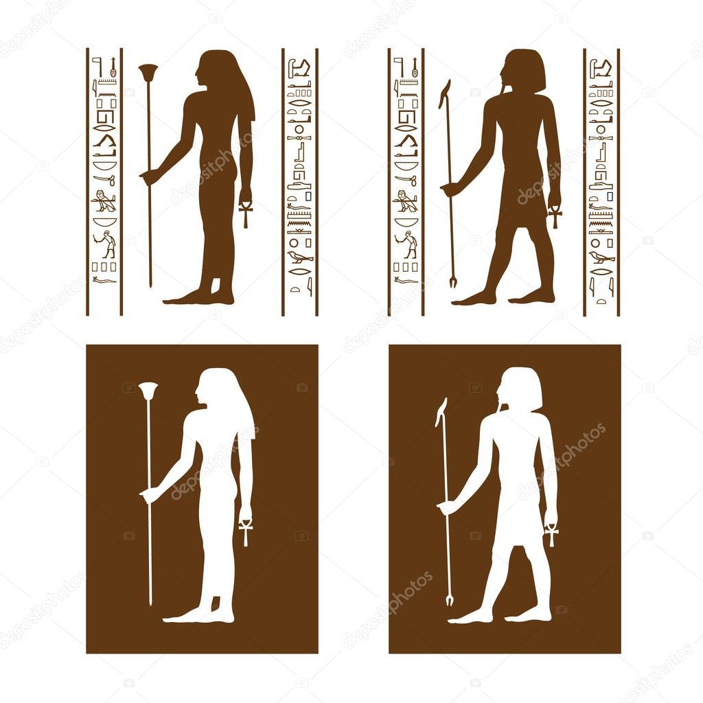 #512B08 Símbolos de banheiro do Egito — Vetor de Stock © remart #13158148 1024x1024 px Banheiro Vetor 1619