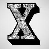 X-观赏初始的信 — 图库矢量图片