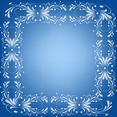 Ornament frame — Stock Vector