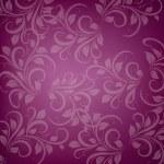 Purple ornament — Stock Vector