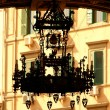 Luxurious street lamp — Stock Photo #12878446
