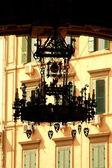 Luxurious street lamp — Stock Photo