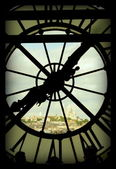 Montmartre time — Stock Photo