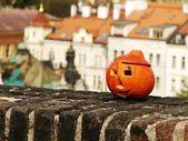 Pumpkin above Prag — Stock Photo