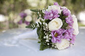 Beautiful wedding roses — Stock Photo