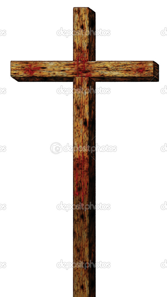 Illustration of the cross of Christ. — Stock Photo #12649346