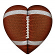 Heart Football — Stock Photo #18162285