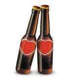 Love Bottles — Stock Photo