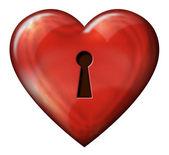 Heart Lock — Stock Photo