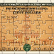 Savings Bond Puzzle — Stock Photo
