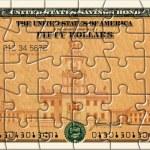 Savings Bond Puzzle — Stock Photo