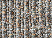 Coins Pattern — Stock Photo