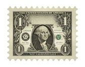 Dollar Stamp — Stock Photo