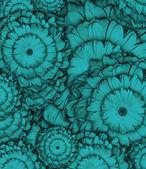 Blu-chiaro modello fiore — Foto Stock