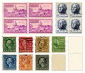 Washington Stamps — Stock Photo