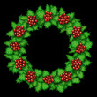 Постер, плакат: Holly Wreath
