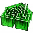 House Maze — Stock Photo #48047085