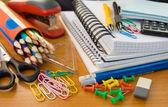 σχολικά είδη γραφείου — Φωτογραφία Αρχείου