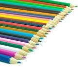 χρωματιστά μολύβια — Φωτογραφία Αρχείου