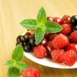 Summer berries — Stock Photo