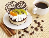 フルーツのケーキ — ストック写真