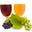 Grape juice - Stock Photo