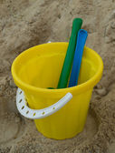 Pail and shovels — Foto de Stock