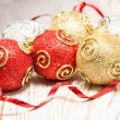 Christmas baubles — Stock Photo #16262039