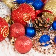 Christmas baubles — Stock Photo #16294125
