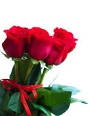 Bouquet of red roses — Foto Stock