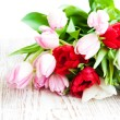 Tulips Bouquet - Stock Photo