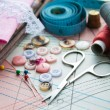Accessory of the tailor — Stock Photo