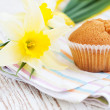 Sweet  muffins — Stock Photo
