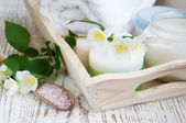 Jasmine spa — Stock Photo