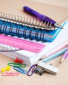 Materiale scolastico — Foto Stock