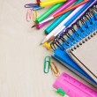 Office or school supplies — Foto Stock